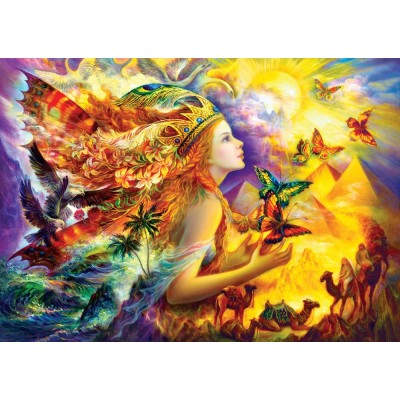 Puzzle Art-Puzzle-4356 Butterfly's Dream
