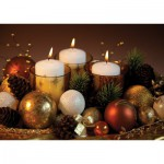 Art-Puzzle-4451 Duftpuzzle - Weihnachtsgesteck