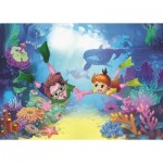 Puzzle  Art-Puzzle-4499 XXL Teile - The Diver Kids