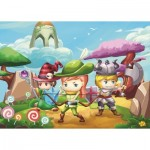 Puzzle  Art-Puzzle-4501 XXL Teile - Little Hero