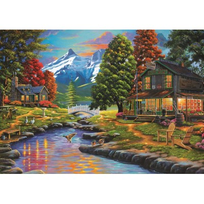Puzzle Art-Puzzle-4575 Two Sides a Forest