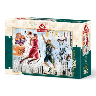 Puzzle Art-Puzzle-4580 Basketball