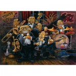 Puzzle  Art-Puzzle-4607 Bill Bell: Louis Armstrong