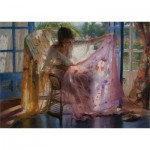 Puzzle  Art-Puzzle-4617 Vicente Romero Rodendo: Preparation for the Night