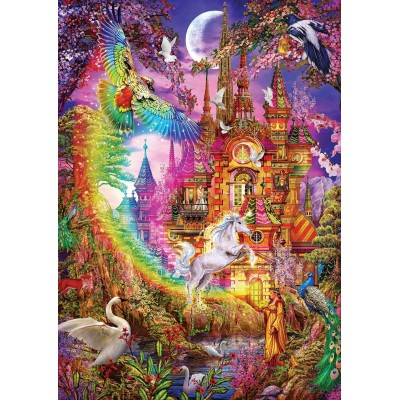 Puzzle Art-Puzzle-5075 Rainbow Castle
