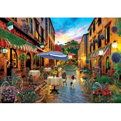 Puzzle Art-Puzzle-5475 Traveling in Italy