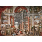 Puzzle  Art-Puzzle-5479 Gallery With Views of Modern Rome, 1757