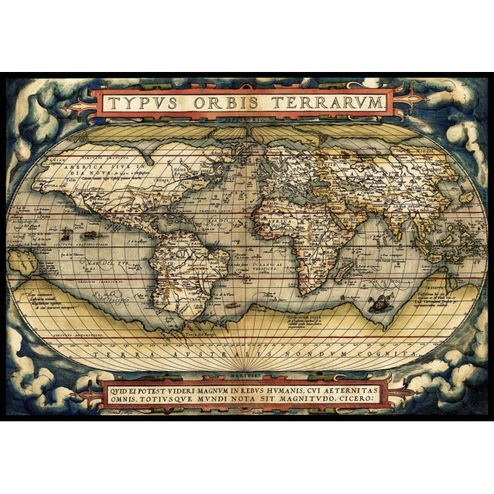 The First Modern Atlas, 1570