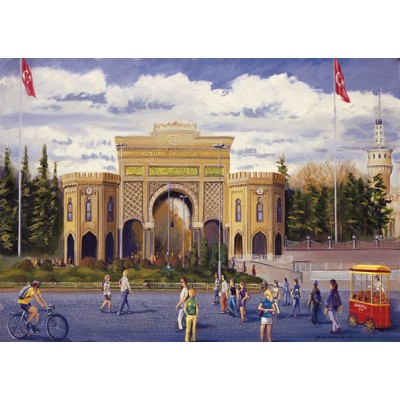 Puzzle Art-Puzzle-81060 Turkey: Istanbul University