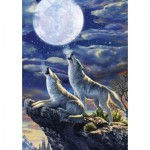 Puzzle   Full Moon Wolves