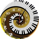 Puzzle-Uhr - Rhythm of Time