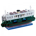 Brixies-58480 Nano 3D Puzzle - Große Starferry Advance (Level 5)
