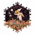 HCM-Kinzel-69136 Wooden Puzzle - Starry Sky
