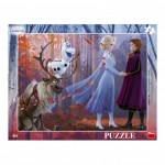 Dino-32224 Frame Puzzle - Frozen 2