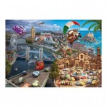 Puzzle  Dino-50199 Cars 2