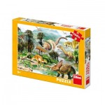 Puzzle   XXL Teile - Dinosaurier