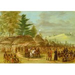 Puzzle   George Catlin: Chief of the Taensa Indians Receiving La Salle. March 20, 1682, 1847-1848