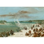 Puzzle   George Catlin: Portage Around the Falls of Niagara at Table Rock, 1847-1848
