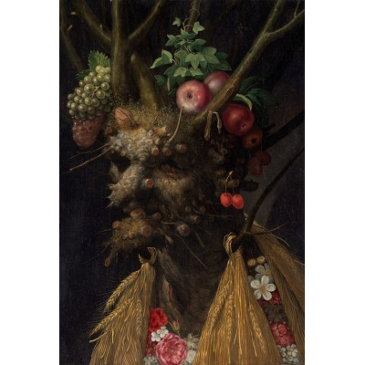 Puzzle Grafika-Kids-00051 Arcimboldo Giuseppe: Four Seasons in One Head, 1590