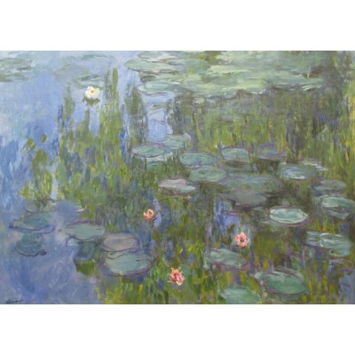 Puzzle Grafika-Kids-00085 Claude Monet: Nymphéas, 1915