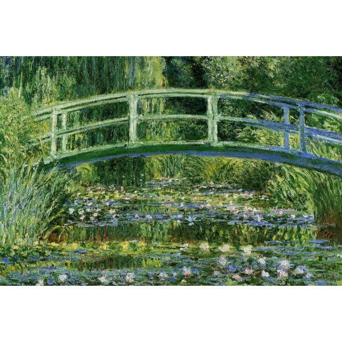Claude Monet: Water Lilies and the Japanese bridge, 1897-1899