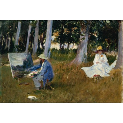 Puzzle Grafika-Kids-00103 Claude Monet by John Singer Sargent, 1885