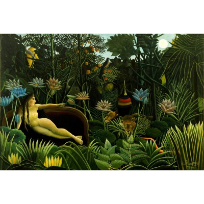 Puzzle Grafika-Kids-00303 Henri Rousseau: The Dream, 1910