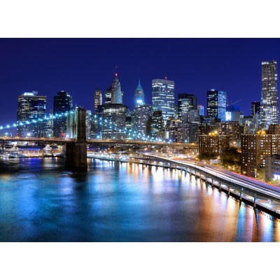 Puzzle Grafika-Kids-00332 New York by Night