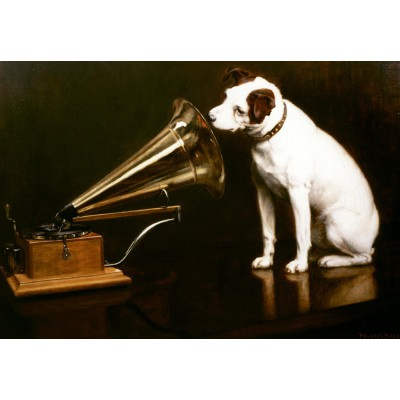 Puzzle Grafika-Kids-00342 Francis Barraud: His Master's Voice