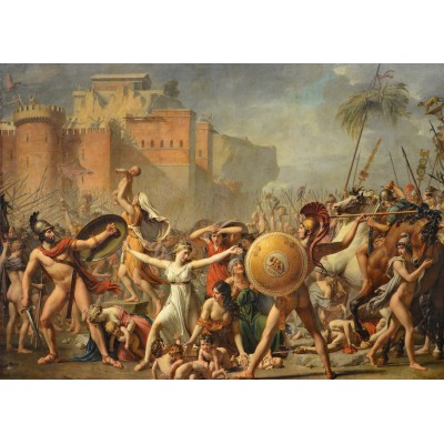 Puzzle Grafika-Kids-00356 Jacques-Louis David: The Intervention of the Sabine Women, 1799