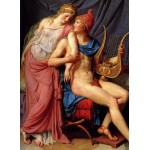 Puzzle  Grafika-Kids-00364 Jacques-Louis David: The Loves of Paris and Helen, 1788