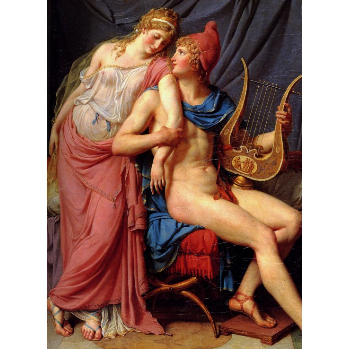Jacques-Louis David: The Loves of Paris and Helen, 1788