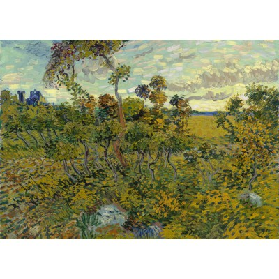 Puzzle Grafika-Kids-00425 Van Gogh: Sunset at Montmajour, 1888