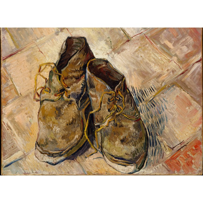 Van Gogh: Shoes, 1888