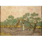 Puzzle  Grafika-Kids-00446 Magnetische Teile - Van Gogh: Women Picking Olives,1889
