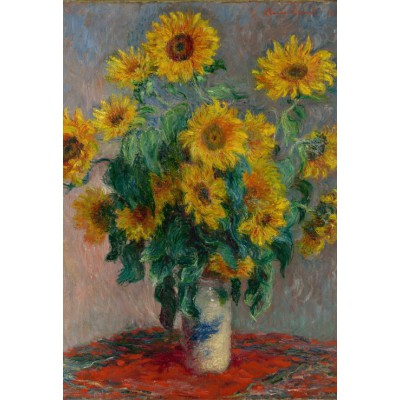 Puzzle Grafika-Kids-00460 XXL Teile - Claude Monet: Bouquet of Sunflowers, 1881