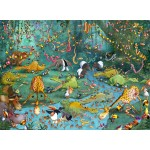 Puzzle  Grafika-Kids-00802 François Ruyer: Jungle