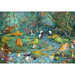 Puzzle  Grafika-Kids-00803 François Ruyer: Jungle