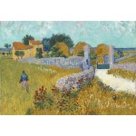 Puzzle  Grafika-Kids-00992 Vincent Van Gogh - Farmhouse in Provence, 1888