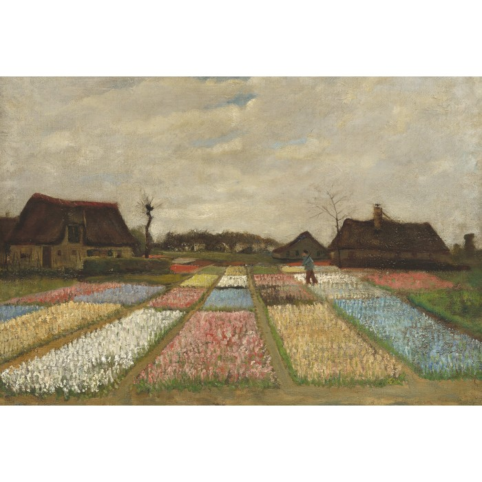 XXL Teile - Vincent Van Gogh - Flower Beds in Holland, 1883