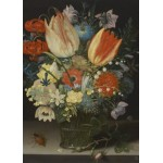 Puzzle  Grafika-Kids-01079 Magnetische Teile - Peter Binoit: Still Life with Tulips, 1623