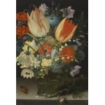 Puzzle  Grafika-Kids-01081 XXL Teile - Peter Binoit: Still Life with Tulips, 1623