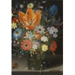 Puzzle  Grafika-Kids-01085 XXL Teile - Peter Binoit: Still Life with Iris, 1623