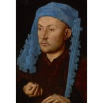 Puzzle  Grafika-Kids-01261 Jan van Eyck - Portrait of a Man with a Blue Chaperon, 1430-33