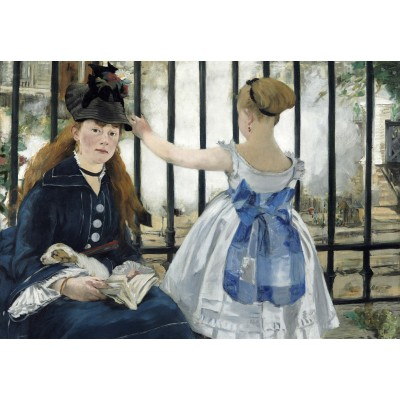 Puzzle Grafika-Kids-01267 Edouard Manet : The Railway, 1873