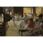 Puzzle  Grafika-Kids-01276 Edgar Degas: The Dance Class, 1873