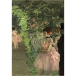 Puzzle  Grafika-Kids-01277 Edgar Degas: Dancers Backstage, 1876/1883
