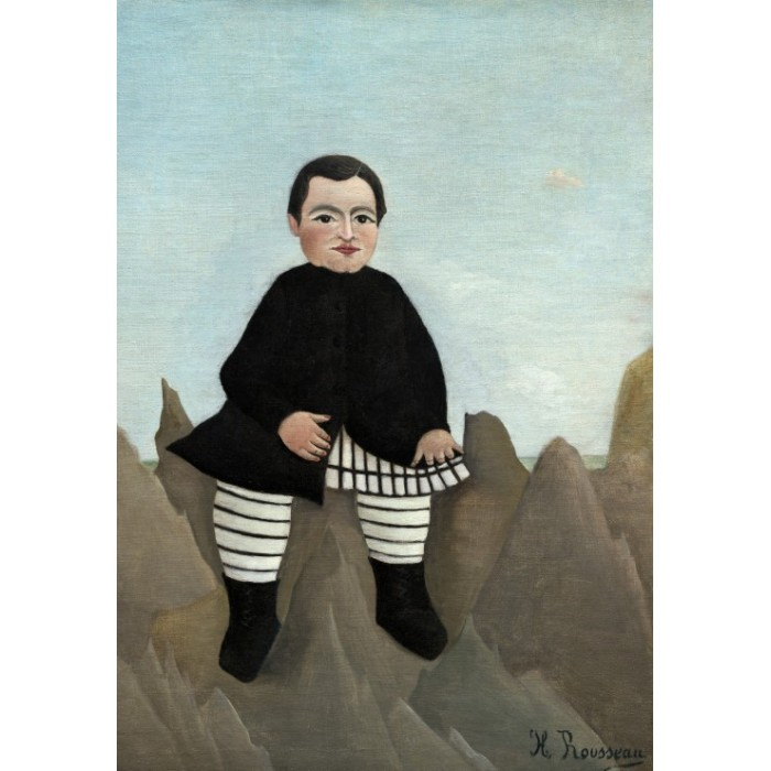 Henri Rousseau : Boy on the Rocks, 1895/1897