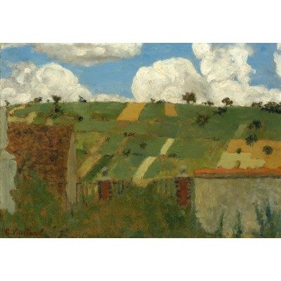 Puzzle Grafika-Kids-01295 Edouard Vuillard: Landscape of the Ile-de-France, 1894