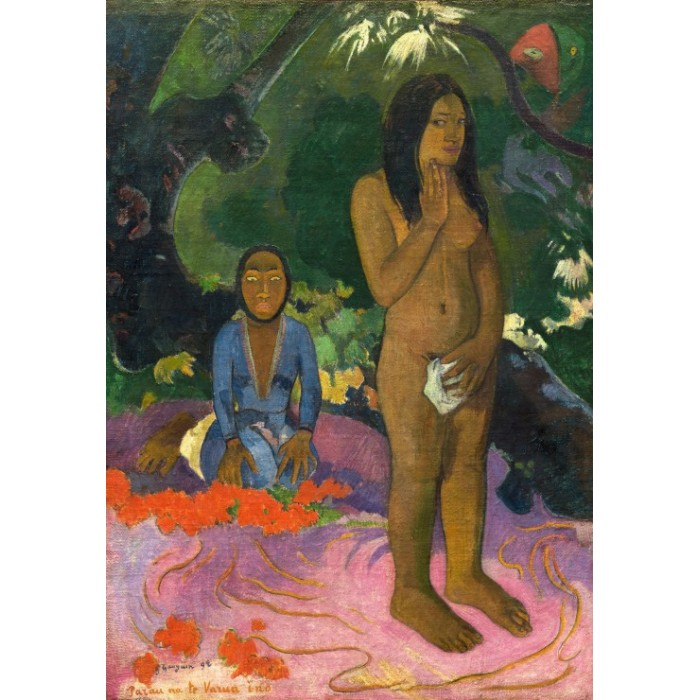 Paul Gauguin: Parau na te Varua ino (Words of the Devil), 1892